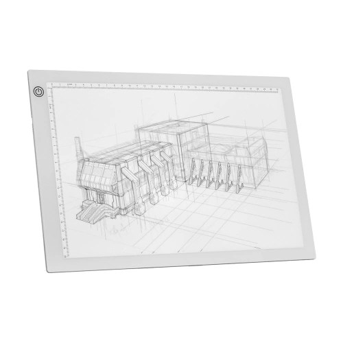 A4 LED Light Box Tracer Drawing Board Copy Board
