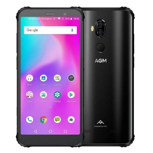 (EU Version)AGM X3 Rugged Smartphone 6GB+64GB IP68 Waterproof