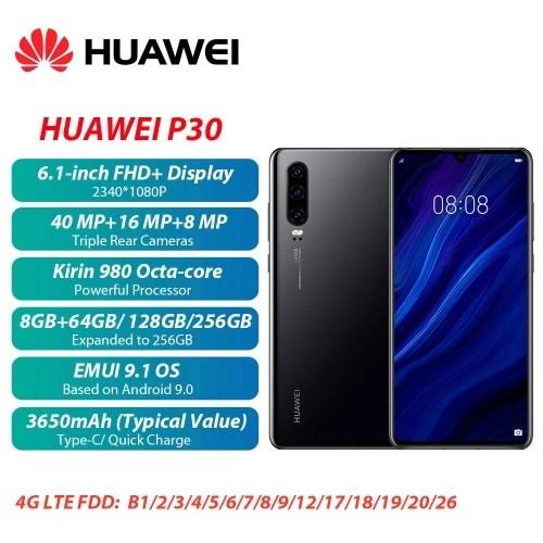 Original HUAWEI P30 Mobile Phone