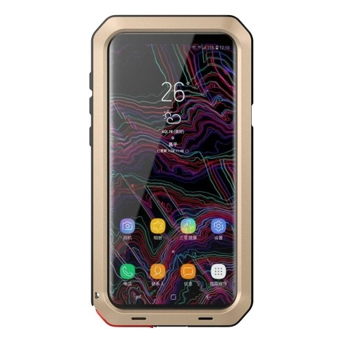 For Samsung Galaxy S9 Plus Metal Protective Phone Cover