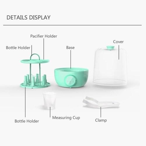 Xiaomi Kola Mama Baby Bottle Dryer Sterilizer Mijia Bottle Dryer Milk Water Fast Heating Pacifier Clean for Nipple Feeder Bottle
