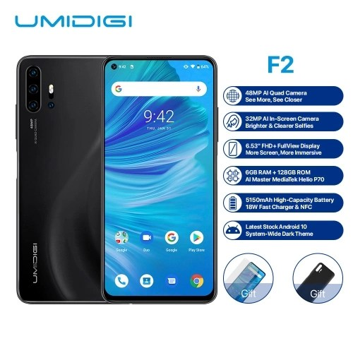 Global Version UMIDIGI F2 Android 10 Mobile Phone For European Union Countries