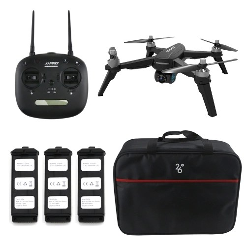 JJPRO X5 EPIK RC Brushless Drone with 3 Battery and Bag