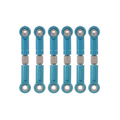6PCS TPOWER Aluminum Alloy Link Pull Rod Kit