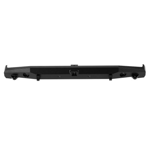 Metal Alloy CNC Rear Bumper with Lights Trailer Hook