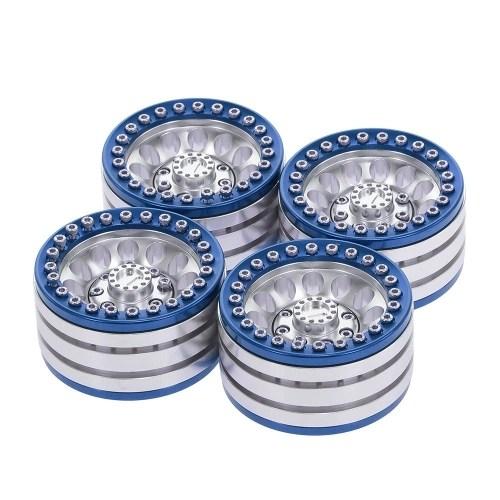 4pcs 1.9 Inch Wheel Hub Rim Metal