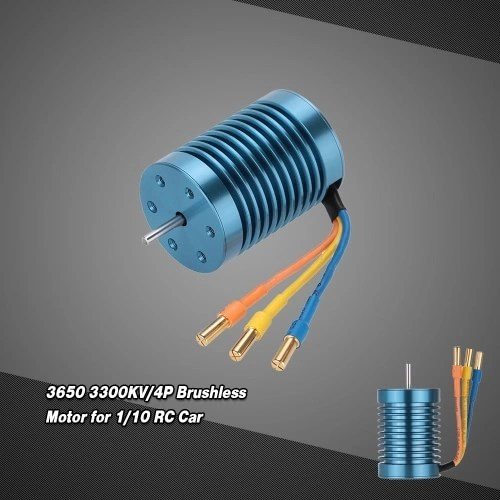 CYW-3650 3300KV/4P Brushless Motor for 1/10 RC Car