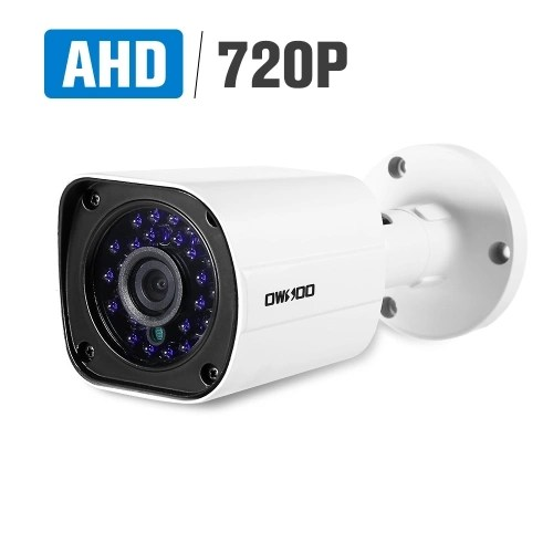 OWSOO 720P 1.0MP 1/4 CMOS AHD Bullet Waterproof CCTV Camera
