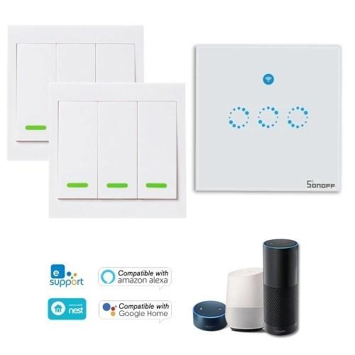 1PCS SONOFF T1 1 Gang Smart WiFi Wall Light Switch