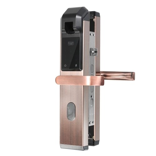 Fingerprint Door Lock Digital Fingerprint Password Key Card 4 in 1 Lock