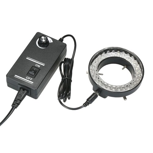 Adjustable 56 LED Ring Light Illuminator Lamp