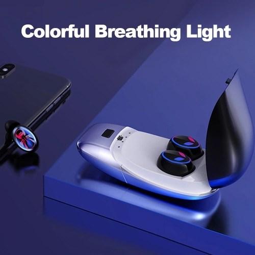 E8 Mini TWS Headphones In-ear Headsets Wireless Bluetooth V5.0 Earphones IPX5 Waterproof with 450mAh Charging Box