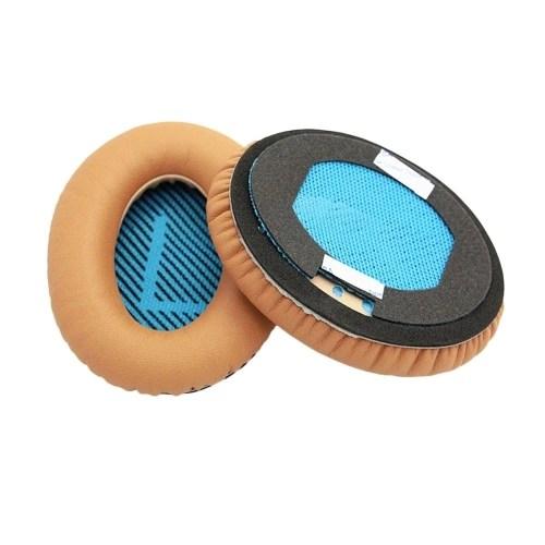 Replacement Ear Pads Ear Cushions for Bose QC2 QC15 AE2 AE2I QC25 Over Ear Headphones Earmuff Cushion Protein Material1 Pair