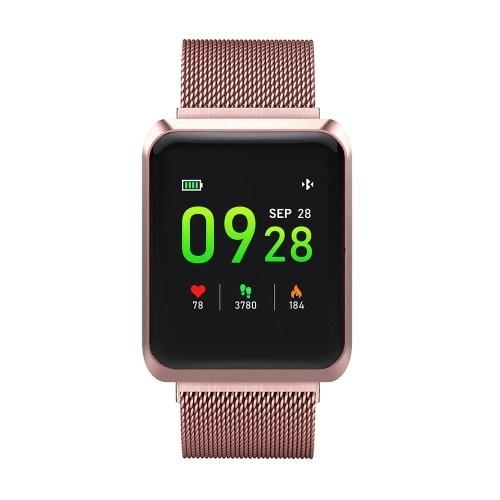 NB-212 Smart Watch BT Bands Sports Bracelet 1.3 Display Screen IP67 Waterproof Magnetic Wristwatch Sleep Monitor Heart Rate Blood Pressure SpO2 Test Stopwatch Message Reminder