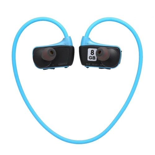 W273 8GB Sports MP3 Player Headphones 2in1 Music Headset MP3 WMA Digital Music Player Running Earphone
