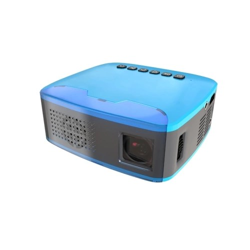 MY20 Mini Portable LCD Projector Home Theater Full HD 1080P