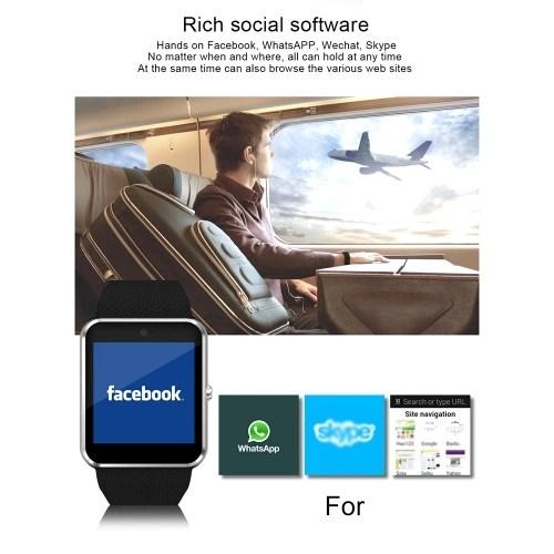 QW08S Home Control APP Intelligent Translation Watch Brown