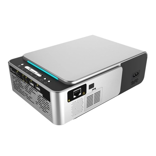 T6 HD LED Portable Mini Projector Video for Home Theater Game Movie Cinema