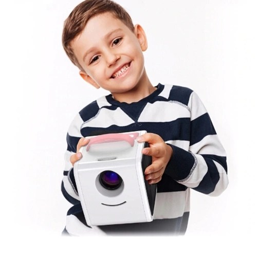 Q2 Mini Portable LCD Projector Kids Toy Home Theater 1080P