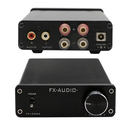 FX Audio 1002A Portable Hifi Mini Power Amplifier 160W*2 TDA7498E 2 Channel Pure Digital Audio Home Amplifier