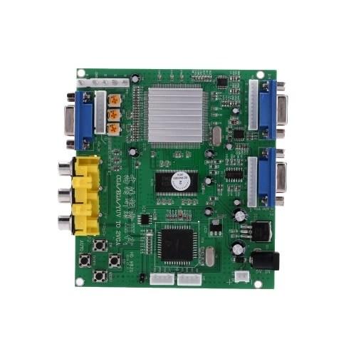 Portable Genuine GBS-8220 V3.0 High Definition CGA / EGA / YUV to VGA (2 * VGA) Arcade Game Video Converter Board Two VGA Output for CRT Monitor LCD Monitor PDP Monitor