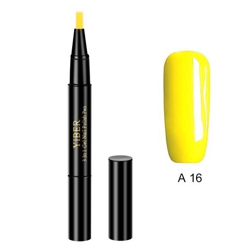 Glitter Nail Art Pen UV Gel Nail Polish Pens
