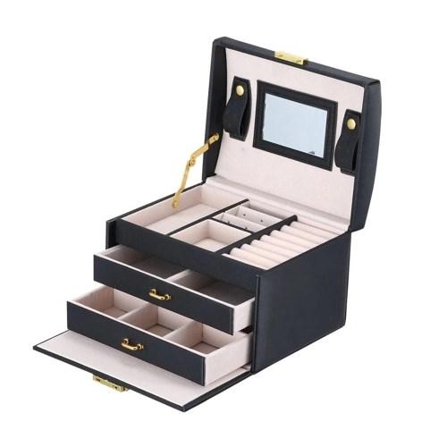 Fashionable PU Leather Jewelry Box