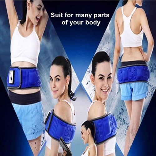 Electric Body Slimming Belt Heat Function Vibra Vibration Weight Loss Rejection Fat Massage Slimming Machine