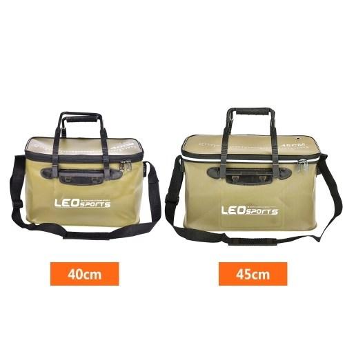 40cm/45cm Outdoor Folding EVA Bucket Fishing Bag Case Portable Camping Hiking Bucket with Handle
