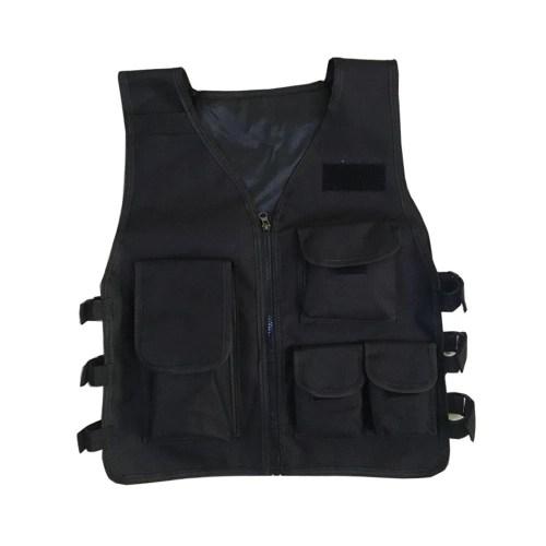 Adjustable Children Camouflage Multi-pockets Jacket