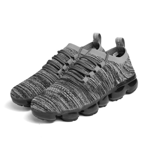 Hot Summer Flying Line Knit High-elastic Breathable Running Shoes