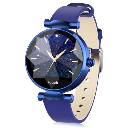 Smart Watch Women 1.04In IPS Screen Touch Fitness Tracker Watch