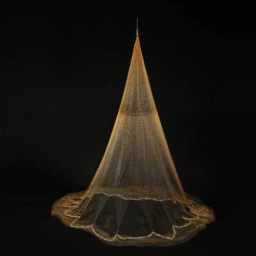 3.2 * 2m Nylon Monofilament Fish Gill Net for Hand Casting