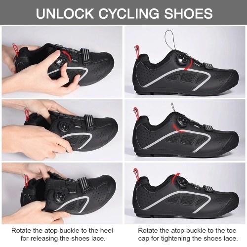 BOODUN J081127 1127C5 Lock-Free Cycling Shoes