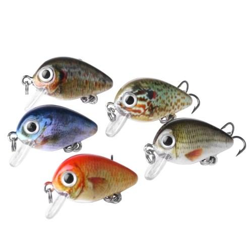 5PCS Hard Fishing Bait Set 2.7cm/1.5g