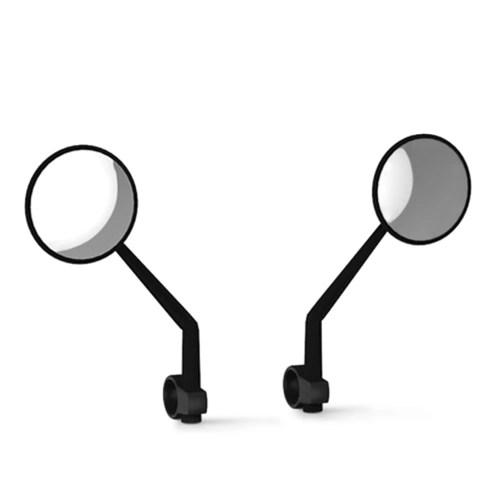 2 PCS Rearview Mirrors Rear View Glass