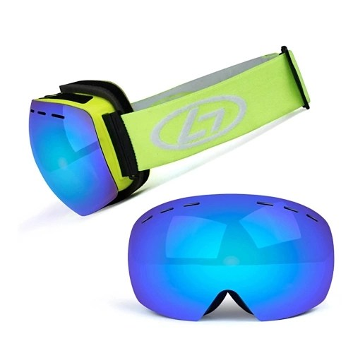 Magnetic Snowboard Snow Goggles