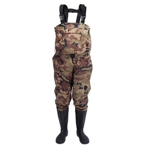 Chest Wader Nylon/PVC Waterproof Fishing Hunting Waders for Men and Women