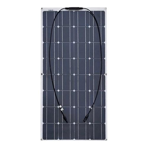 100W Ultra-thin Semi-flexible Bendable Solar Panel