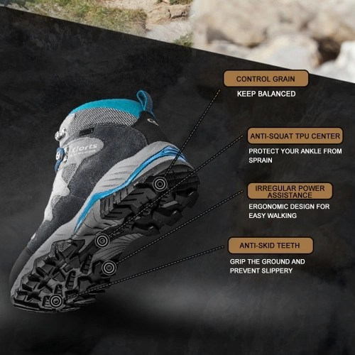 Clorts HKM-823 Lightweight Breathable Waterproof Shoes Boots