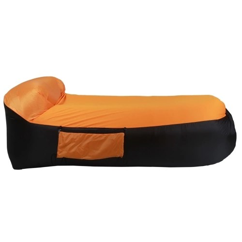 Enlarged Portable Inflatable Sofa Couch Pillow Sleeping Air Beds for Outdoor Camping Travelling with Four Colors Optional