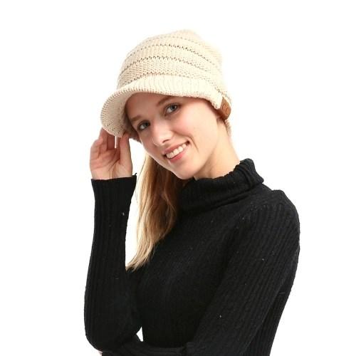 Winter Women Girl Soft Warm Knitted Thicken Hat