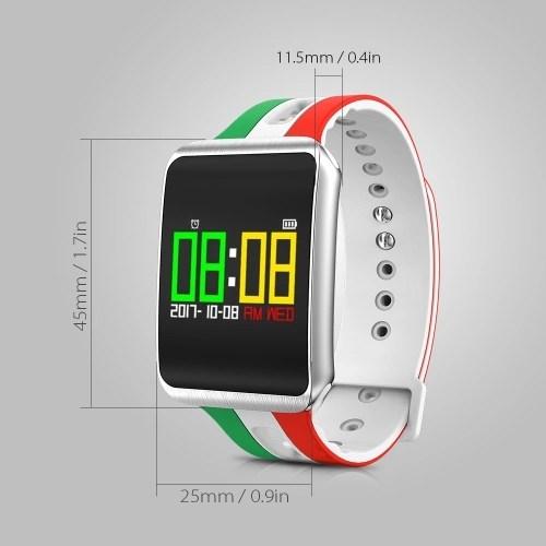 Smart Watch Ultra Long Standby Time Smart Wristwatch Distance Calorie Message Reminder Heart Rate Blood Pressure Test  Running Climbing Fitness Sport Smart Bracelet Celebrate for World Cup