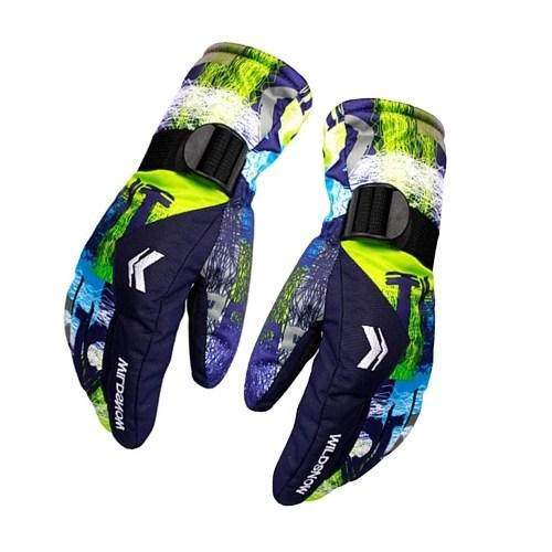 Ski Gloves 100% Waterproof Warm Snow Gloves