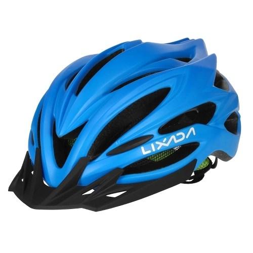 Lixada 22 Vents Ultralight Integrally-molded EPS Sports Cycling Helmet with Lining Pad Mountain Bike Bicycle Unisex Adjustable Helmet