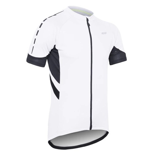 Arsuxeo Men Cycling Jersey Half Sleeve Biking Top Outdoor Sport Wear Bike Shirt
