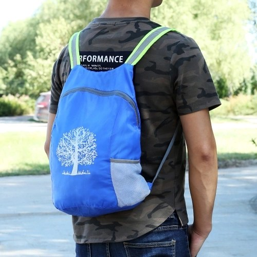 Lightweight Foldable Backpack 15L Travel Day Bag Water Resistant Hiking Daypack for Adults Kids Outdoor Sports Camping Cycling Travel