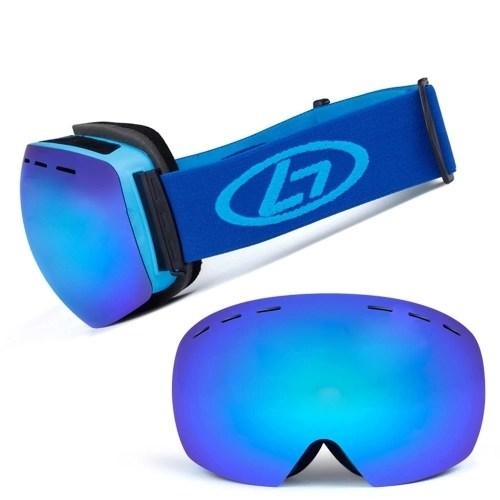 Skiing UV400 Protective Anti-fogging Goggle