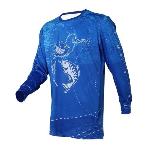 Lixada Long Sleeve Fishing Shirt