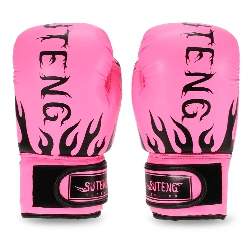Children Breathable Safety Kickboxing Training Leather Boxing Gloves